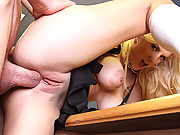 Naughty slut gets slammed at school