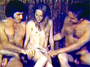 A real hardcore vintage threesome in sixties