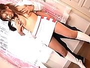 Sakura Ayukawa big breasts groped from behind in this video