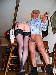 Spanking a dressed up street slut hardcore