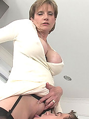 British milf sonia seduces toy boy