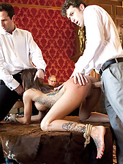 Sex slaves go to work for sadistic Masters and Mistresses