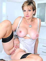 Great tits british mature babe