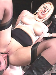 English femdom milf penis gag ride