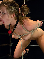 Cali Lakai loves being dominated and fucked in strict bondage.