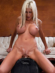 Swedish MILF - Puma Swede is machine fucked by the Annhilator and the Sybian until she is a messy, cussing, heap on the floor.