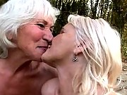 Gorgeous grannys getting off