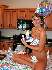 Nude and crazy birthday party