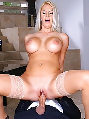 Amazing mega hot ass big tits babe get nailed hard against her piano in these hot teacher fucking student pics
