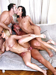 Check out these 2 hot ass fucking euro babe get fucked in their asses at the same time in this amazing 4some fucking anal pussy fuck pic set