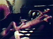 A very horny retro couple fucking hardcore