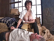 British mature dominatrix action