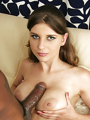 Cock Lover Sara Taking Big Black Bone Deep In Tight Gash