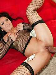 Asian Kitty Langdon Rammed With Huge Black Rod