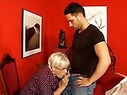 Gorgeous granny gives good head