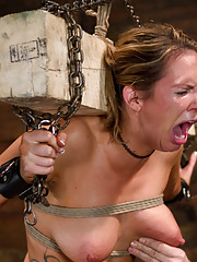 Rain gets fucked in the ass to the point of oblivion in this first day of slave training.