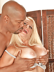 Huge Tits Interracial