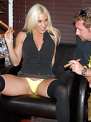 Banging milf ahlei gets fucked hard in a cigar shop in these hot ass big titty fucking cumfaced pics