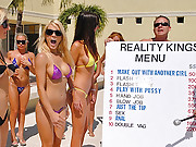10 hot bikini babes compete for cash by the pool in this hot bikini contest fucking and sucking competition vids