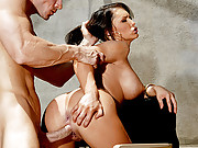 Jenna Presley enjoying her time on Mr Sins hard cock