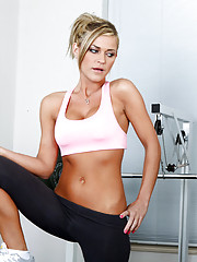 Mckenzee Miles is working out her killer body and then Otto Bauer tells her that he