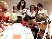4 super hot college babes get nailed hard in this dorm room real user submitted sex party hot vids