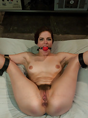 Bobbi Starr gets double penetrated in bondage and role play.