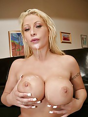 Amazing big tits hot ass candy mason get nailed in her ass creamed on her face hot birthday party action