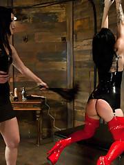 Tori Luxe and Kimberly Kane in all anal sex domination.