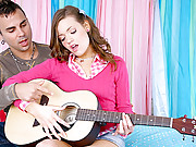 Amazing super hot ass little teen fucked in the ass hard by the guitar instructor hot ass after school ass fucking teen vids