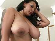 Erotic and curvy ebony mature babe