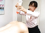 Kaho Kasumi horny doctor about to examine his tight ass