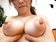 Seira Moroboshi big breasts groped by her horny lover