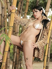 Natalia Spice bares it all in the wild