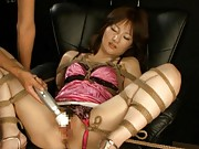 Nei Nanami spreads her legs to get her tight asshole fingered