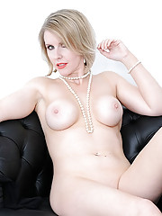 Amazing british mature blond angela