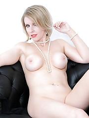 Amazing british mature blond angela