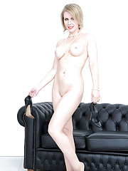 Naked british blonde mature angela