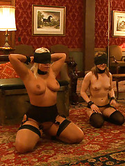 House slaves Jessie Cox and Kait Snow are played off against each other in a lesson about working together, composure, and grace.