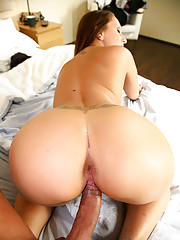 Smoking hot ass euro babe pinned to the bed and pounded hard hot pics