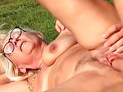 Granny enjoys a hard fucking