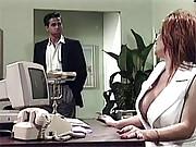 Secretary screwing her horny boss hardcore