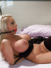 Holly Halston ass fucked and dominated in bondage!