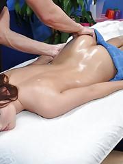 Cute 18 year old brunette slut