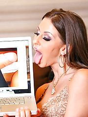 Gianna micheals gets her asshole fucked hard in these amazing ass fuck pics