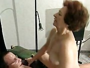 Mature amatuer enjoys a hard fuck