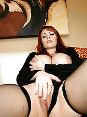 Amazing red head nailed up her tight ass hot real fucking pornstar pics
