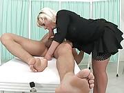 Unfaithful mature fiancee blowjob
