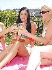 Check out india in these milf champagne parties watch these hot threesome get wild