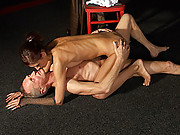 Stunning mistress enjoys shagging a senior